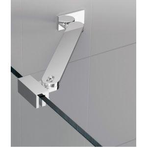 Novellini Barre de renfort d'angle 25 cm pour paroi de douche fixe