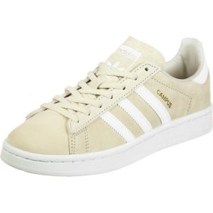 Adidas Campus, Sneakers Basses Femme, Marron (Clear Brown/Footwear White/Rose Crystal White), 43 1/3 EU