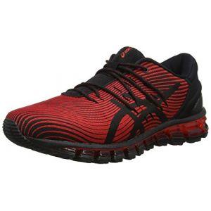 Asics Gel-Quantum 360 4, Chaussures de Running Homme, Multicolore (Red Alert/Black 600), 42.5 EU