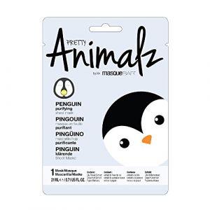 Masque B.A.R Pretty Animalz Pingouin - Masque en feuille purifiant