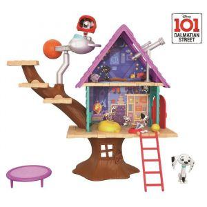 Mattel Set de jeu Disney 101 Dalmatiens La Cabane dans l'Arbre