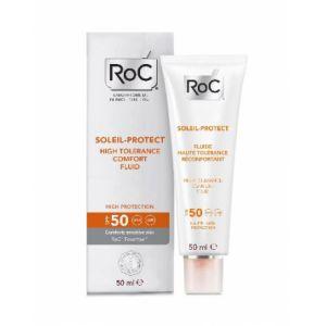 ROC Soleil-protect - Fluide haute tolérance réconfortant SPF50