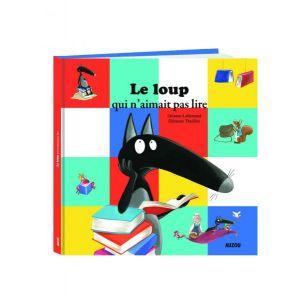 Editions Auzou Livre Mes Grands Albums : Le loup qui n'aimait pas lire