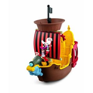 Fisher-Price Bateau pirate Jolly Roger du Capitaine Crochet
