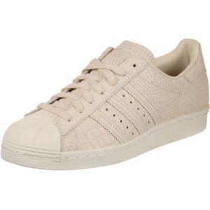 Adidas Superstar 80s, Baskets Hautes Femme, Beige (Linen/Linen/Off White), 39 1/3 EU