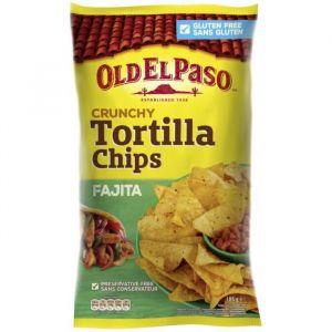 Old el paso Crunchy Tortilla Chips Fajita