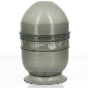 Beautélive Shaker coloration gris Gris Plastique - Matériel de coiffure Coloration Cheveux