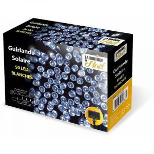 Ose Guirlande solaire LED lumineuse 200 LEDs 13m Blanc