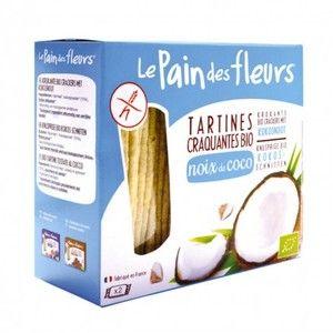 Le pain des fleurs Tartines craquantes à la coco 150 g