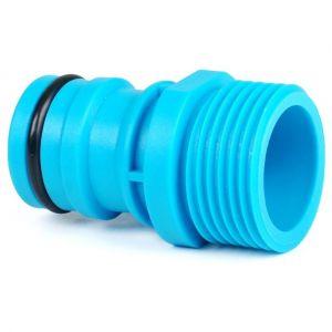 """Cellfast 1 """"connecteur mâle du robinet de fil - 1"""" 1 pouce raccord rapide robuste système de tuyau Quickfit"""