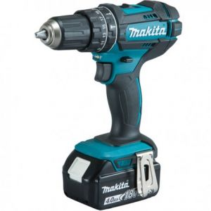 Makita DHP482RMJ - Perceuse visseuse à percussion 18 V Li-Ion 4 Ah Ø 13 mm