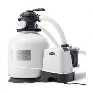 Intex Combiné filtre à sable 6 m³/h et Stérilisateur + OEC 2020