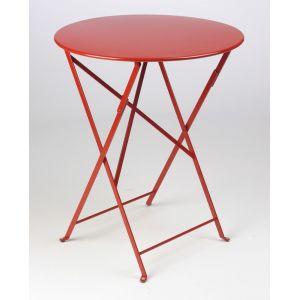 Fermob Bistro - Table de jardin ronde pliante Ø60 cm
