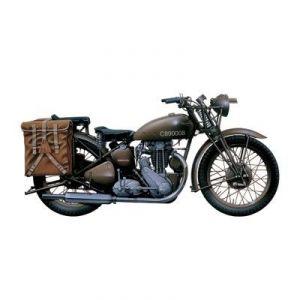 Italeri 7402 - Maquette moto militaire Triumph 3HW - Echelle 1/9