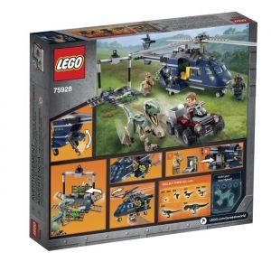 Lego Jurassic World 75928 - La poursuite en hélicoptère de Blue