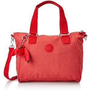 Kipling Amiel - Sacs a Main - Femme - Rouge (Spicy Red C) - 27x24.5x14.5 cm (B x H x T)