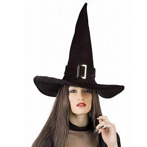 Chapeau sorcier velours pour adulte