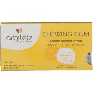 Argiletz Argil'gum citron chewing gum - 12 carrés