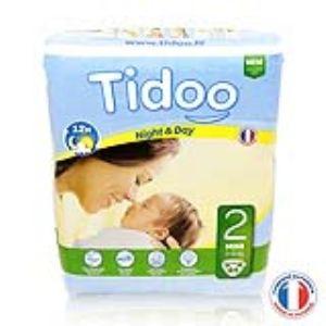 Tidoo Couches Jumbo Mini taille 2 (3-6 kg)