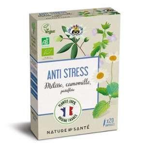 Nature & Santé Ampoules Anti stress Bio 20x10ml