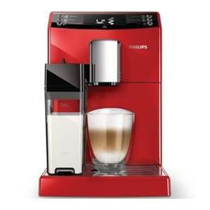 Philips Expresso avec broyeur EP3363/10 Series 3100 rouge