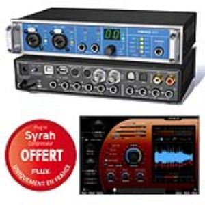 RME Audio Fireface UCX - interface audio desktop USB et FireWire