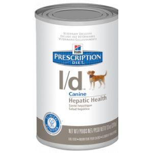 Hill's Prescription diet canine L/D 12 boites de 370 g