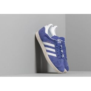 Adidas Baskets basses Gazelle en cuir Bleu Originals