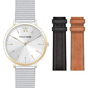 Trendy Kiss CTK-04 - Coffret montre pour femme avec 3 bracelets