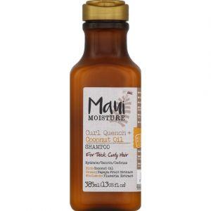 Maui Moisture Shampooing à l'huile de coco, hydrate, lisse et défrise - Le flacon de 385ml