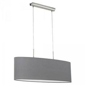 Eglo Suspension PASTERI Nickel mat, 2 lumières - Moderne - Intérieur - PASTERI