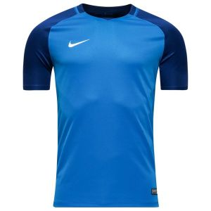 Nike Trophy III SS Maillot Homme, Deep Royal Blue/Blanc, FR : L (Taille Fabricant : L)