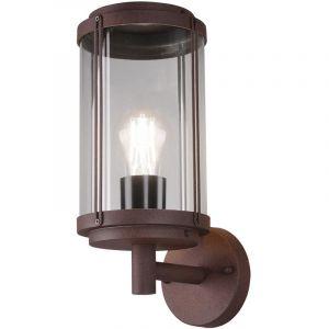 Trio Applique extérieure design ALU lanterne terrasses plot spot rouille lumières 202360124 LEUCHTEN
