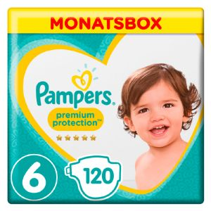 Pampers Active Fit Pants taille 6 (+15 kg) - 116 couches-culottes