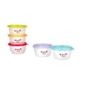 Badabulle B004302 - 5 maxi portions 250 ml