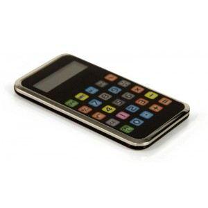 Smartphone PM - Calculatrice solaire de poche imitation smartphone