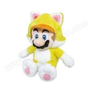 Sanei Mario Cat Peluche 25cm