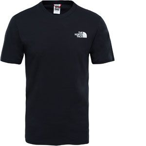 The North Face Red Box T-Shirt de Sport Homme Noir FR S (Taille Fabricant S)