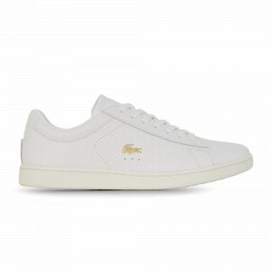 Lacoste Carnaby Evo Woven Blanc 38 Femme