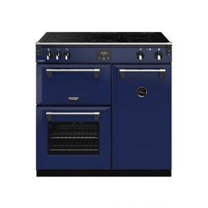 Stoves PRICHDX90EIBLO - Richmond Deluxe 90 cm Induction Bleu Outremer - Piano de cuisson
