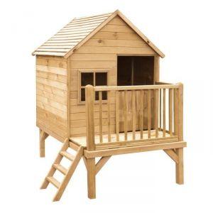 Forest Style Winny - Maison de jardin en bois sur pilotis 190 x 120 x 200 cm