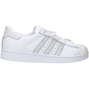 Adidas Superstar Enfant Iridescent Et Blanche Baskets/Tennis Enfant
