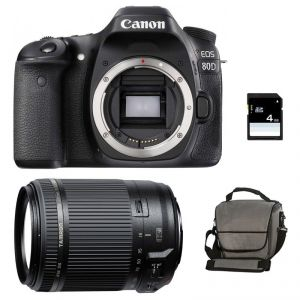 Canon EOS 80D (avec objectif Tamron 18-200mm)