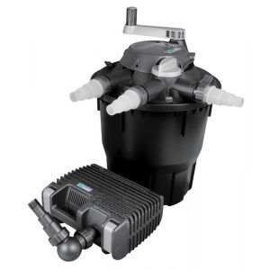 Hozelock Système de filtration complet pour bassin avec pompe et filtration jusqu à 12000 litres