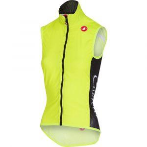 Castelli Veste Femme Pro Light Wind (sans manches) - M Yellow Fluo