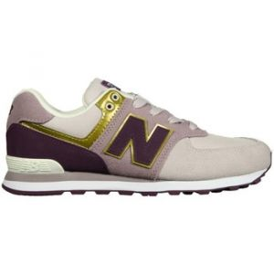 New Balance Chaussures enfant GC574MLG violet - Taille 37,37 1/2