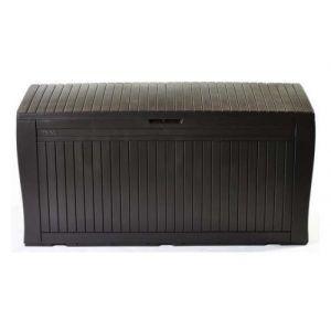 Keter Comfy - Coffre de Rangement extérieur, 270 l, de 117 x 9 x 53 cm