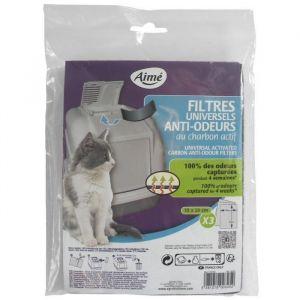 Aimé Filtres anti odeur pour chat