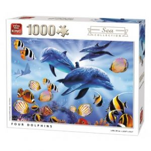 King International Four Dolphins International - Puzzle 1000 pièces