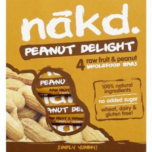 nakd Barre de cacahuète delight, sans gluten et sans sucres ajoutés